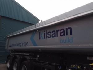 kilsaran trailer graphic