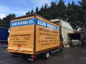 Allen Removals Trailer