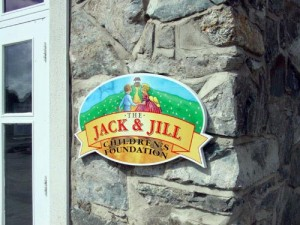 Jack & Jill Engraved Plaque