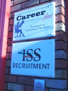 ISS Recruitment Wall Plaque