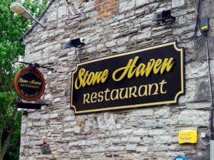 Restaurant Shop Front Signage