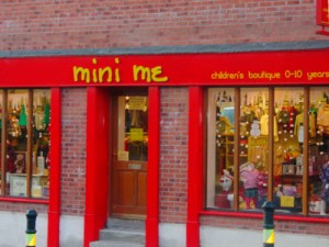 Mini Me Shop Front Signage