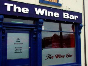 The Wine Bar Signage
