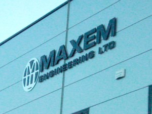 Maxem Engineering Industrial Sign