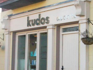 Kudos Shop Front Sign