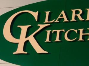 Kitchen Shop Signage