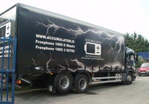 Accumulator Truck Graphic