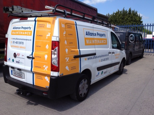 Commercial Van Graphic - APM
