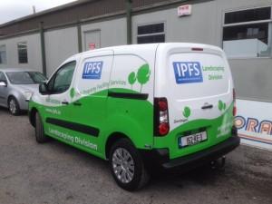 IPFS Truck Graphic