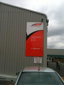 VTN Industrial Signage