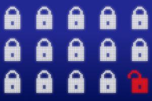 Internet security image by DennisM2 (Public Domain).