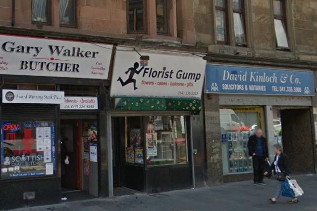Florist Gump, Glasgow.